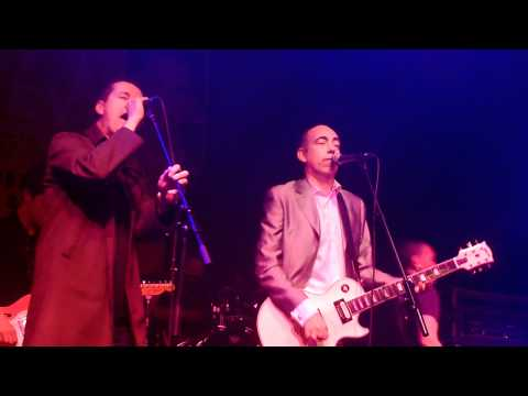Mick Jones from The Clash Pete Wylie The Farm Situtation Nowhere live Liverpool 24th September 2011