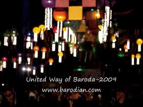 United Way of baroda Garba 2009 Part 8
