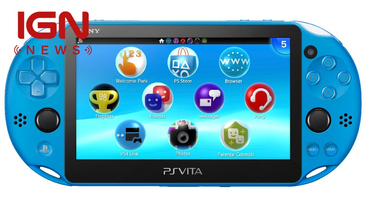 Blue PlayStation Vita Coming to the United States This Fall - IGN News