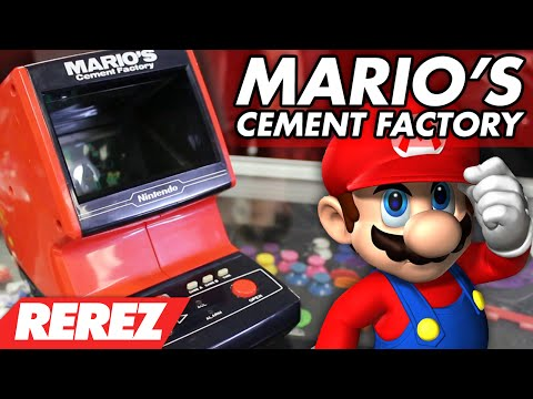 Mario's Cement Factory (Nintendo & Coleco Table Top Arcade) - Rerez