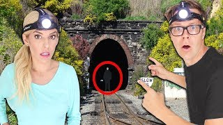 Exploring the Abandoned Game Master Secret Hidden Mystery Tunnel! New Clues Found