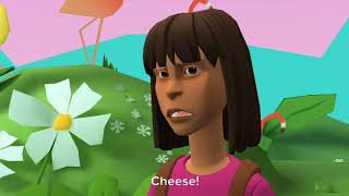 Dora Misbehaves At Chuck 'E Cheese And Gets Grounded (A Plotagon Video) (Subtitled)