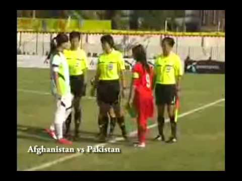 Afghan Women at the SAFF Games