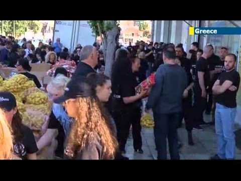 Golden Dawn Racist Easter Aid: police shut down 'Greeks Only' Athens Easter charity event