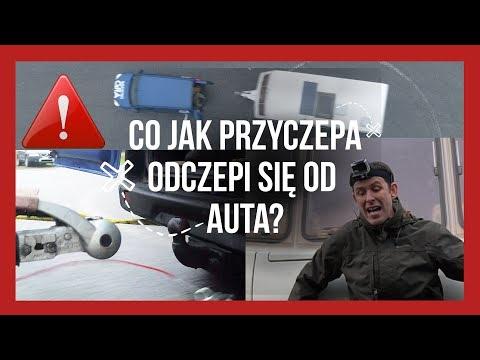 041- Co Jak Przyczepa Odczepi Się Z Haka? Test Hamulca Awaryjnego Przyczepy.