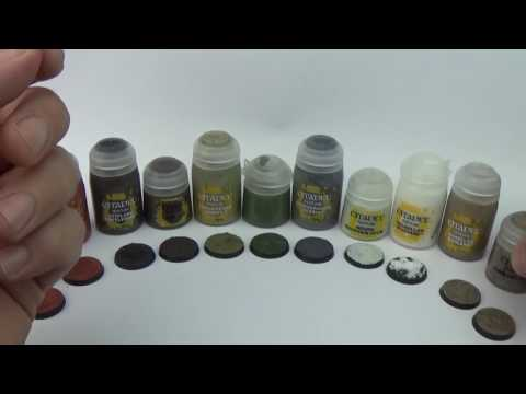 Warhammer 40K Painting & Modelling Review CITADEL TEXTURE PAINT RANGE