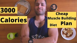 LOW BUDGET INDIAN DIET PLAN FOR WEIGHT GAIN | 3000 Cals Pure Veg | 10 kg weight gain?