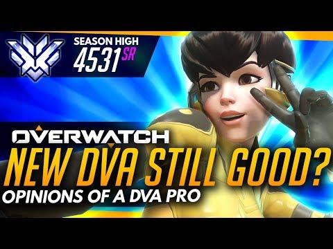 Overwatch | New Dva Better Than Before? - Opinions of a Pro Dva (ft LowKeyNerd)