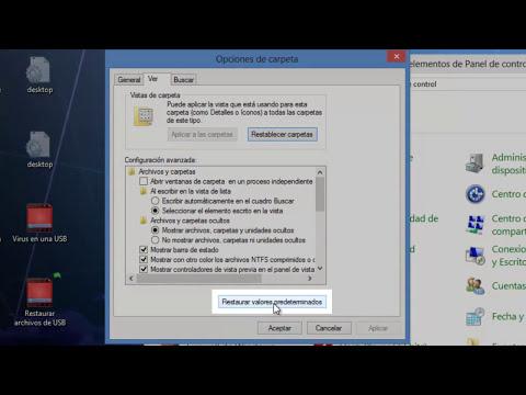 TUTORIAL: Mostrar archivos ocultos de una memoria extraible sin programas (USB, SD, etc.)