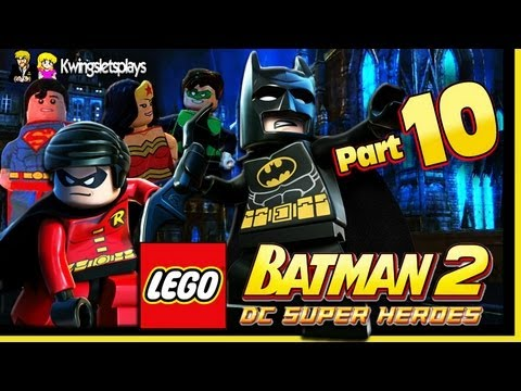 Lego Batman 2 - Walkthrough Wii U Part 10 Worlds Finest