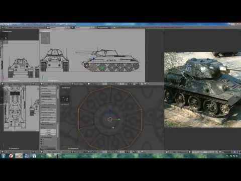 Как создать текстуры танка - ОКТАКО