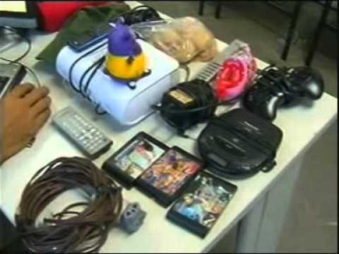 Rapaz é preso suspeito de invadir casa e roubar objetos