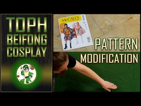 Toph Beifong Cosplay: Pattern Modification