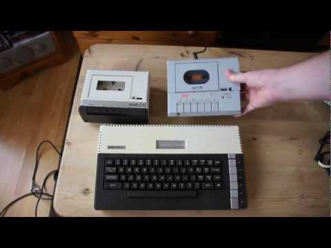Atari 800 xl Komputer lat 80 tych. prezentacja i podlaczenie oraz demo gry.