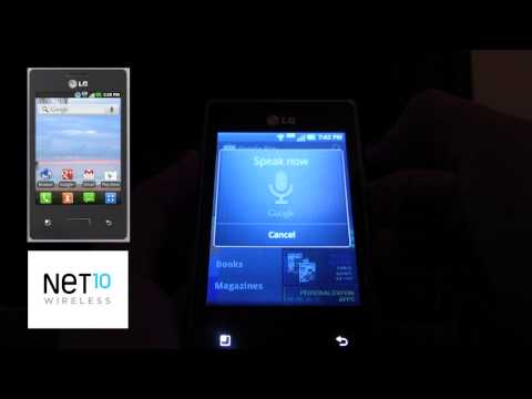 Net10 Wireless: LG Optimus Logic Review