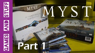 There are too many PC versions of Myst (Part 1) - Ben's Games and Stuff