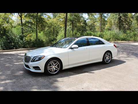 2014 Mercedes-Benz S550 - Review in Detail. Start up. Exhaust Sound. and Test Drive