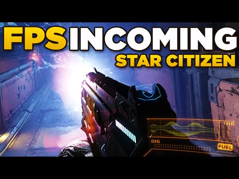 STAR MARINE INCOMING  | Star Citizen FPS in 1 month