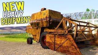 NEW HEAVY EQUIPMENT! THE MILLION DOLLAR FARM COMPANY IS UNDERWAY! - Farmer's Dynasty Gameplay