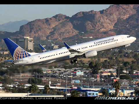 Tribute to Continental Airlines - Star Alliance member - Apologize