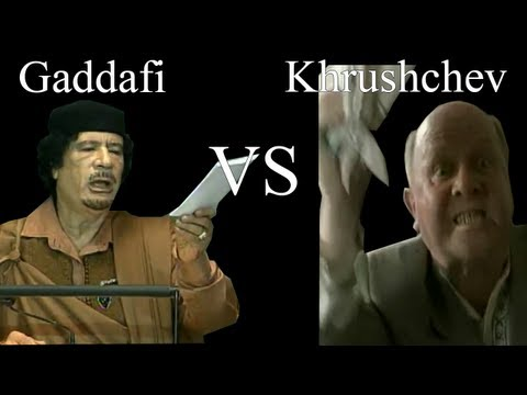 Gaddafi's Papers of Doom vs Khrushchev's Papers of Utter Chaos