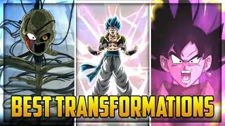 The BEST TRANSFORMATIONS in dokkan battle (January 2019) | Dragon Ball Z Dokkan Battle
