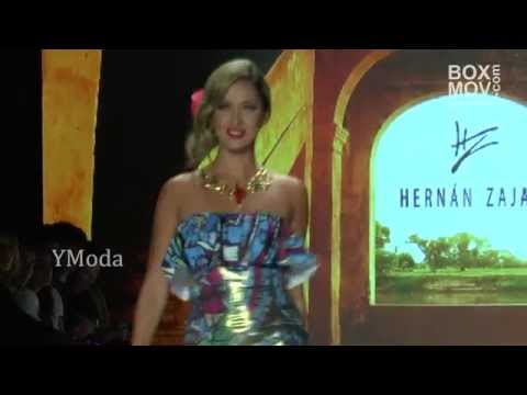 Pasarela HERNAN ZAJAR - Bogotá Fashion Week 2015