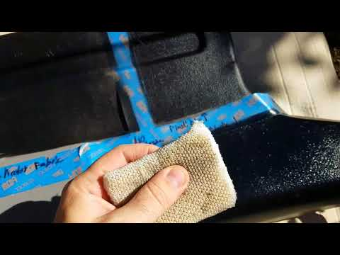 Painting Interior Plastics - Krylon vs. Duplicolor vs. Plastidip