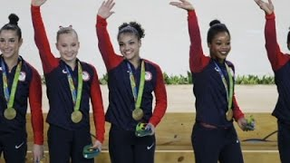Golden Week for US Women's Gymnastics Team