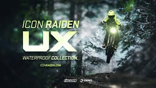 ICON Raiden UX - Waterproof Collection