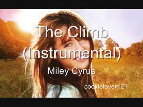 The Climb by Miley Cyrus Karaoke w lyrics