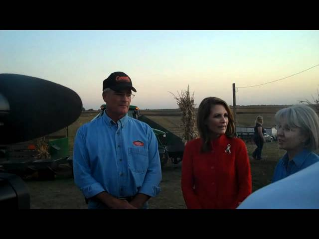 Bachmann Talks About Grinnell College Protesters