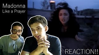 Madonna - Like a Prayer (Official Music Video) REACTION!!!