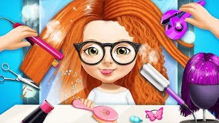 Sweet Baby Girls Hair Salon 3 - Dress Up, Makeup & Nails Care Game For Kids