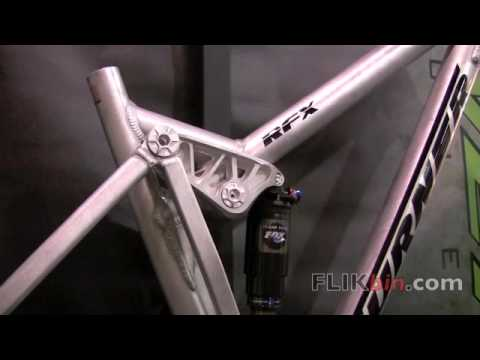 Interbike 2009 - Turner Bicycles - 2010 RFX Prototype DW Link Grease Fittings Freeride