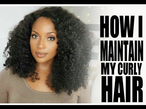 Maintaining my Curly Sew-In :II: WowAfrican