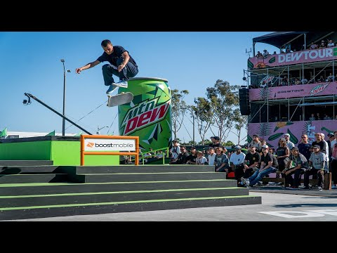 Best of Element Skateboards TransWorld SKATEboarding Team Challenge | Dew Tour 2018