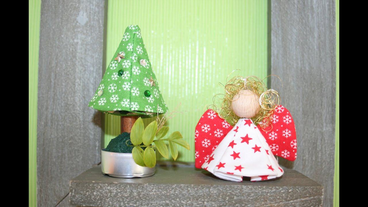 weihnachtsengel und weihnachtsbaum n hen mit kostenlosem schnittmuster youtube. Black Bedroom Furniture Sets. Home Design Ideas