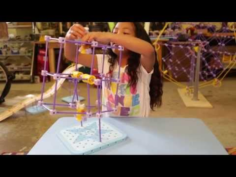 """Tori s Ferris Wheel"" -- GoldieBlox Playground Easter Build #2"