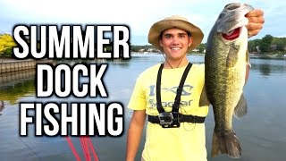 Jon Boat Bass Fishing with Flukes