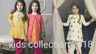 Kids Froks & Dress Designs 2018 collection