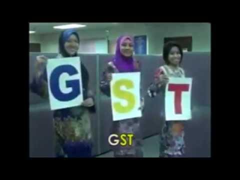 GST之歌中文版 lagu GST versi Kastam