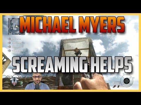 Call of Duty Michael Myers - Scream Louder, It'll Help The Pain (Black Ops)