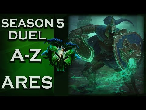 Smite: Season 5 Duel A-Z!   Ares   Sound The Drums Of War!   #11