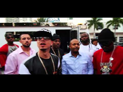 LOB (Loaf Of Bread Records) Pulls Up In An Armored Truck @ Xotics Hair Battle On South Beach [User Submitted]