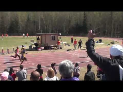 South Anchorage High School 4x100m Relay Region IV Champoins