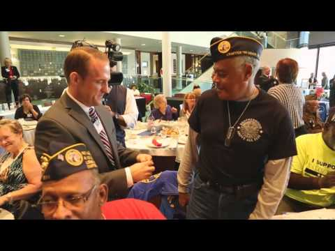 Veterans Recognition Ceremony at Lorain County Community College