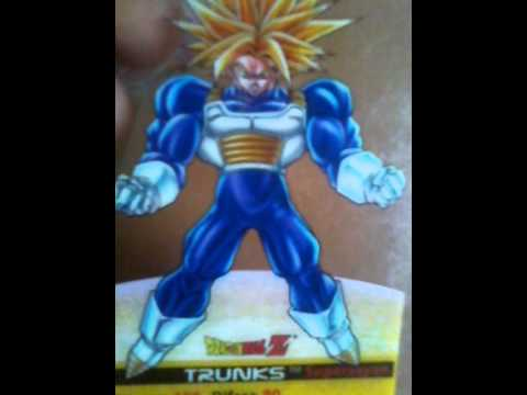 Dragon ball z le lamincards