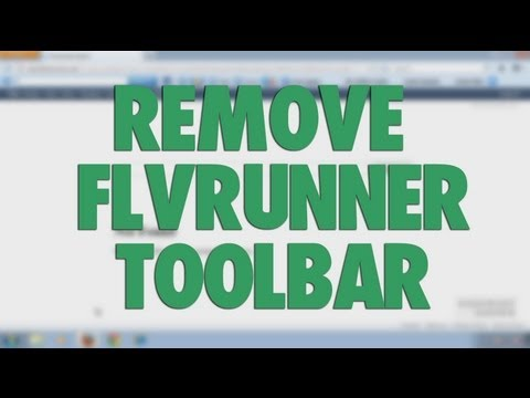Remove FLV Runner toolbar