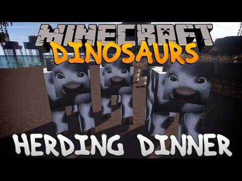 Minecraft Dinosaurs Ep.11 Herding Dinner.